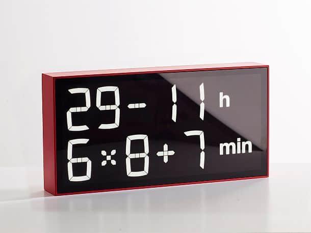 Математические настенные часы Albert
