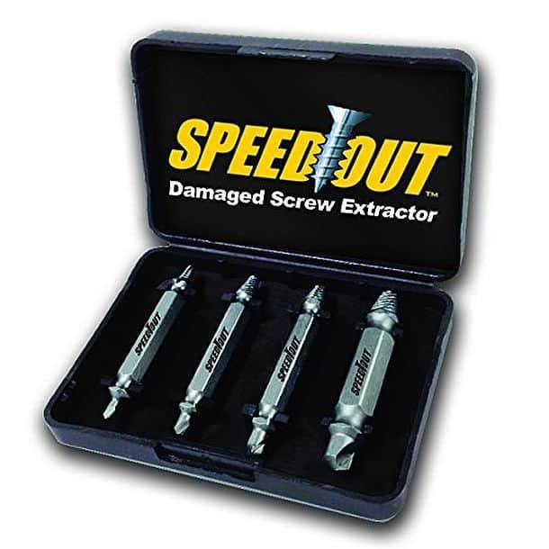 Набор SpeedOut для выкручивания испорченных саморезов