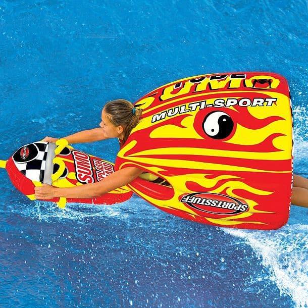 Надувной буксируемый гидрокостюм Sumo Tube