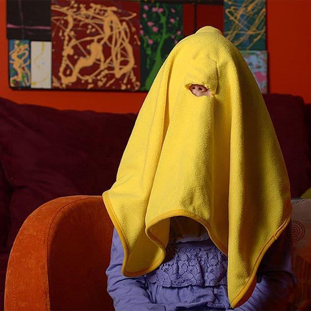 Одеяло для уединения Face Blanket