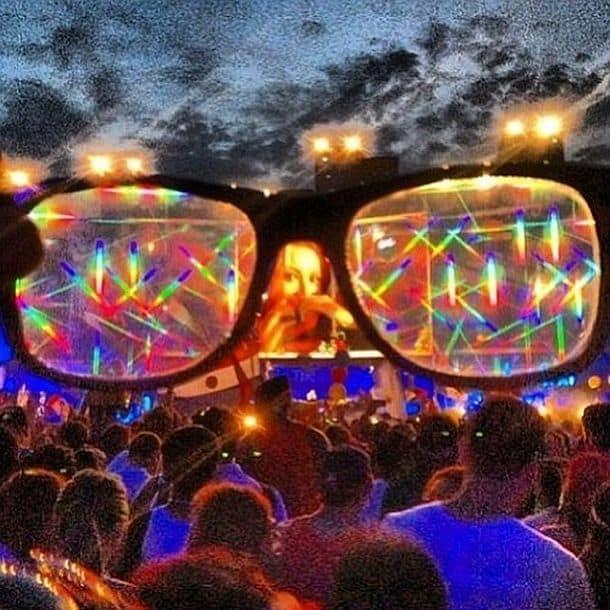 Очки для яркой вечеринки GloFX Diffraction