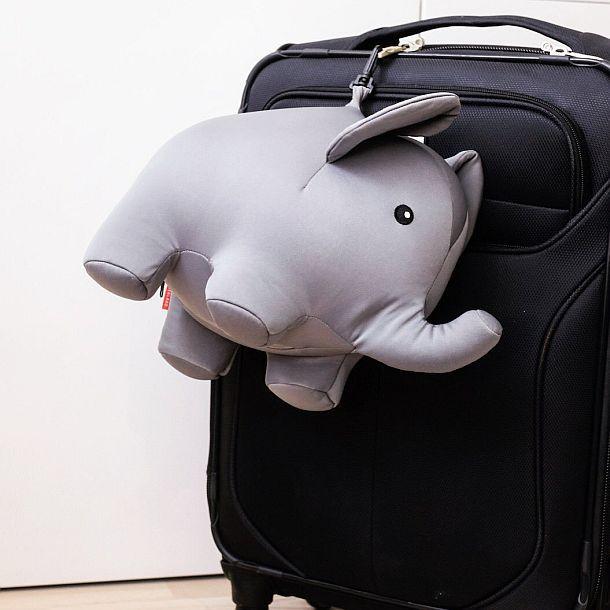 Подушка-трансформер Zip And Flip Elephant Travel Pillow