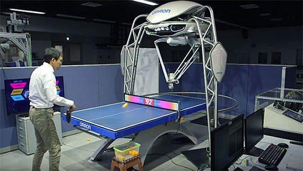 Робот-тренер по настольному теннису FORPHEUS