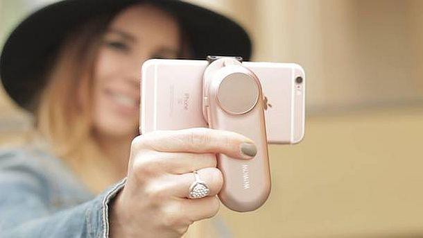 Стабилизатор камеры смартфона с резервным аккумулятором Fancy