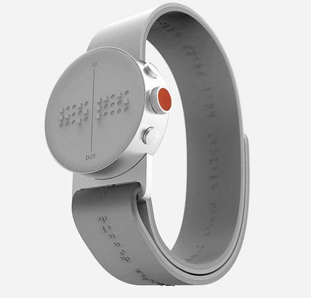 Умные наручные часы для слабовидящих Braille Smartwatch