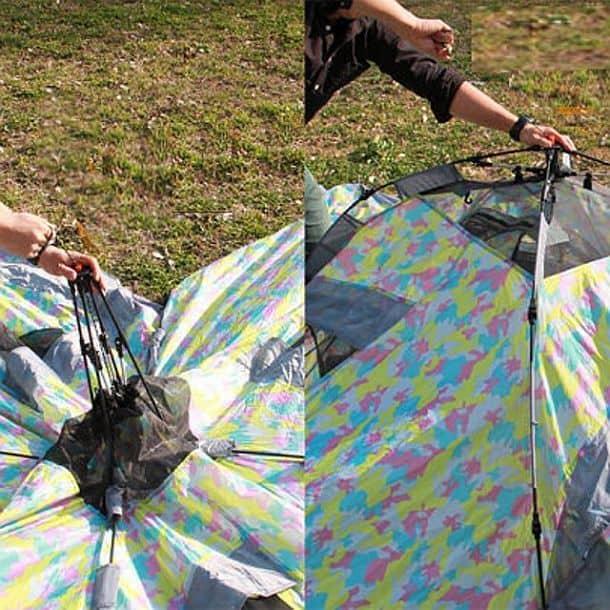 Х-образная четырехместная палатка Doppelganger Crazy X Tent