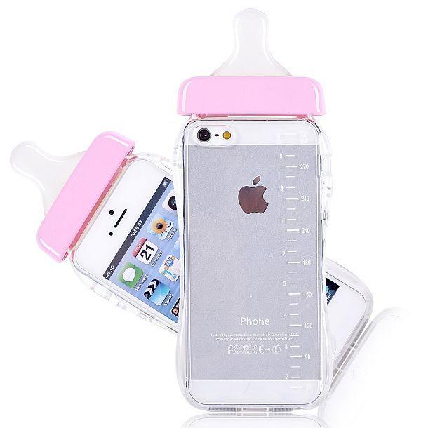 Чехол для iPhone 5/5S в форме детской бутылочки