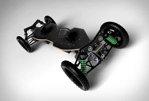 Электрический внедорожный скейтборд BajaBoard