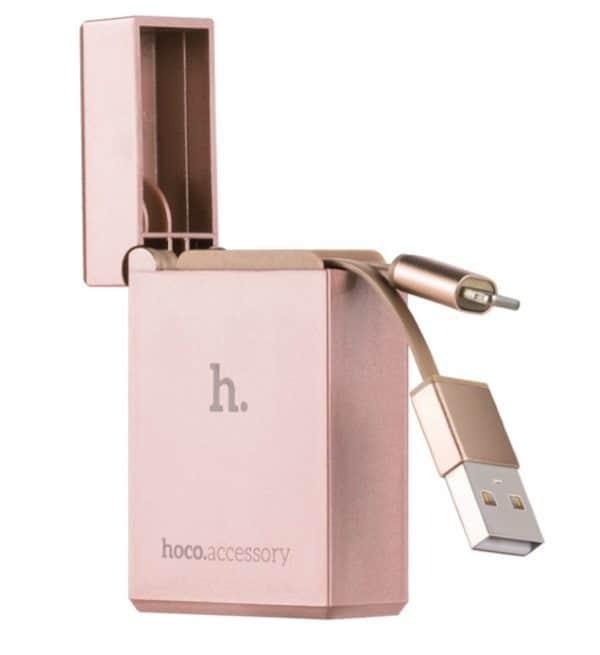 Кабель для зарядки iPhone в виде зажигалки