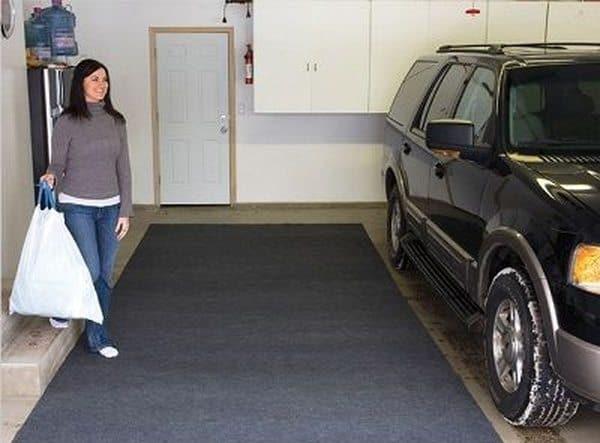 Гидрофильный коврик для гаража