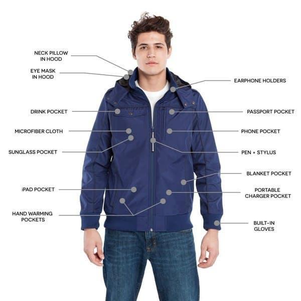 Многофункциональная куртка опытного путешественника Baubax