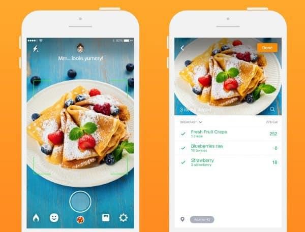 Calorie Mama AI — определение калорийности блюд по фотографии