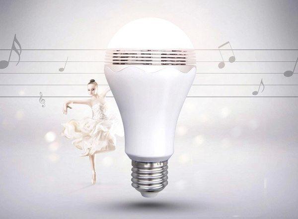 Музыкальная Bluetooth-лампочка