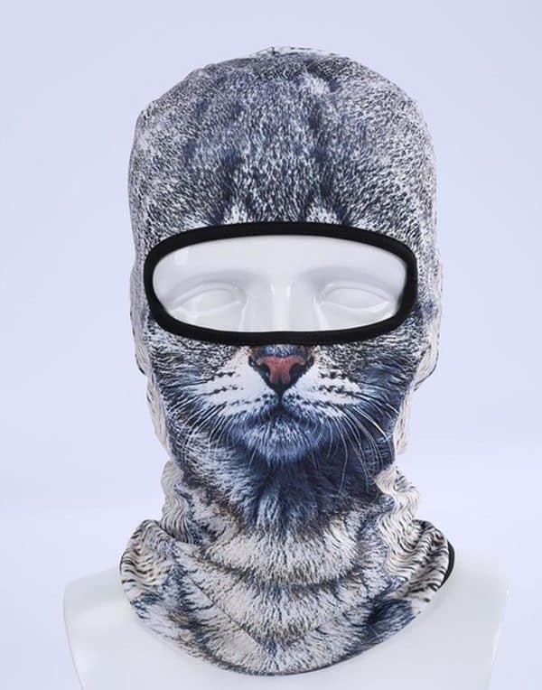 Балаклава в виде кошачьей головы