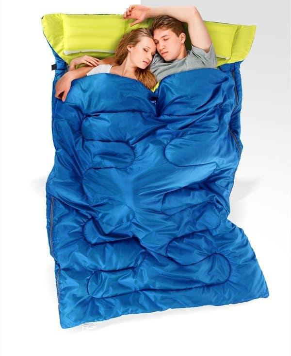 Двойной спальный мешок Naturehike