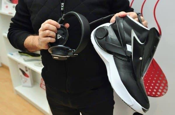 Высокотехнологичные ботинки Digitsole