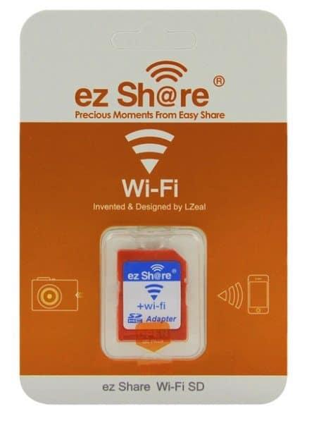 Micro SD-карта и адаптер с функцией копирования по Wi-Fi