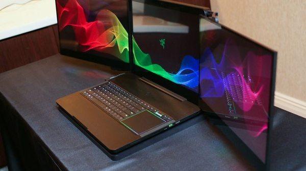 Ноутбук Razer Valerie с тремя дисплеями