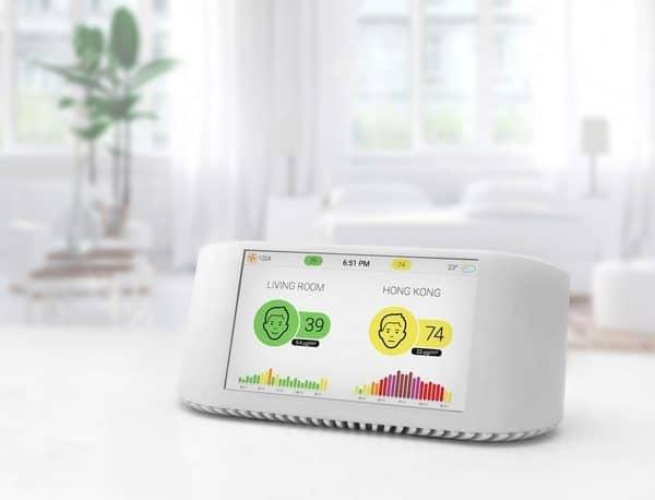 Устройство для умного мониторинга качества воздуха AirVisual NODE
