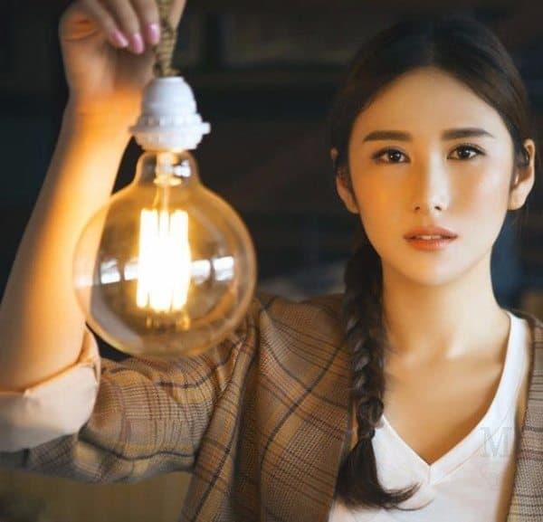 Лампа накаливания в ретро-стиле