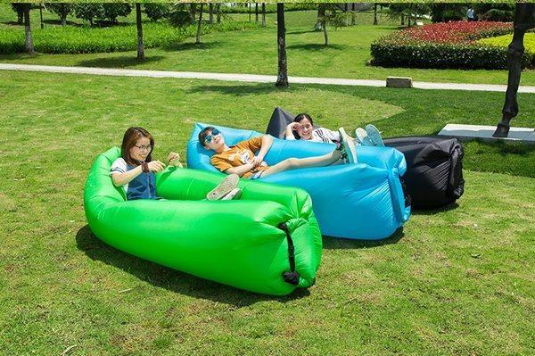 Большой надувной диван-гамак