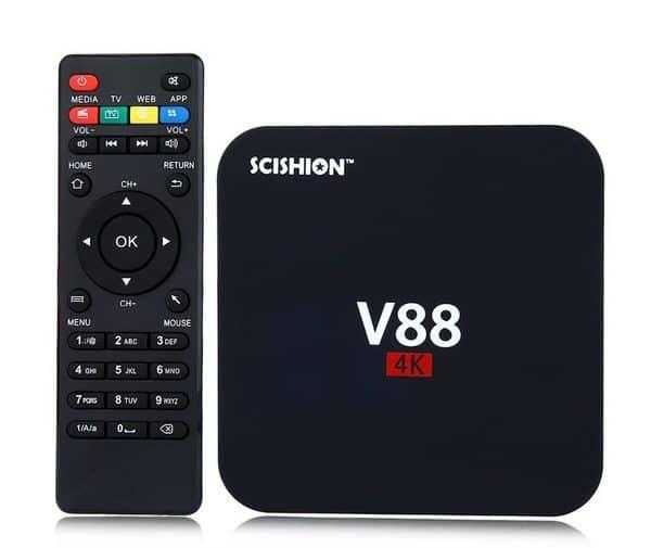 Бюджетный ТВ-бокс Scishion V88
