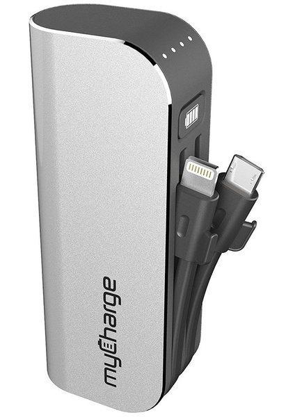 Аккумулятор со встроенными проводами myCharge HubMax