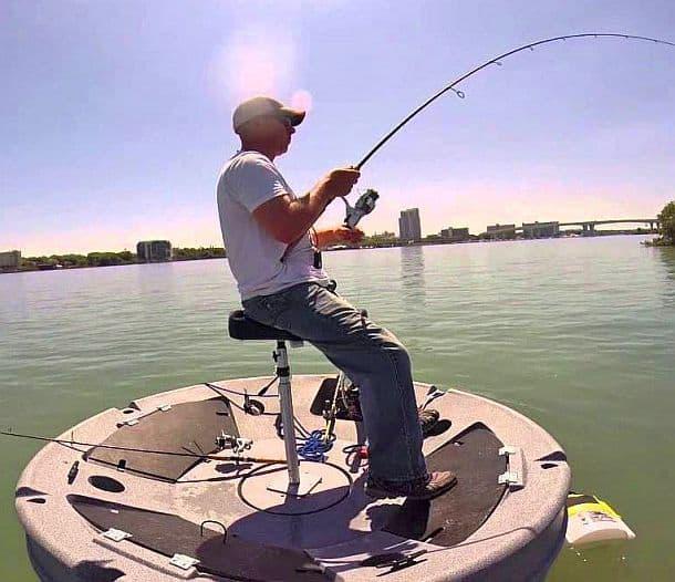 Ultraskiff 360 – одноместная лодка для рыбалки или охоты