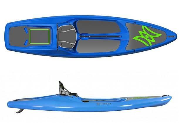 Гибрид доски для серфинга с веслом и байдарки Hi Life 11.0