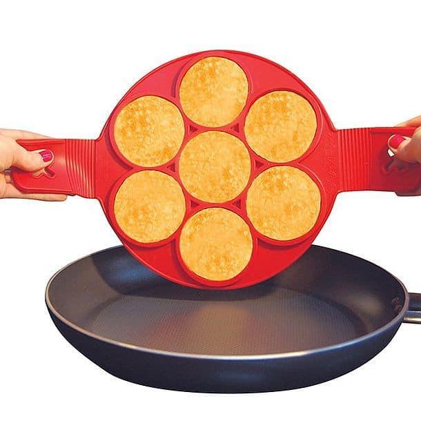 Силиконовая формочка для поджарки идеально круглых оладьев Flippin' Fantastic