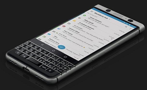 Смартфон с клавиатурой BlackBerry KEYone