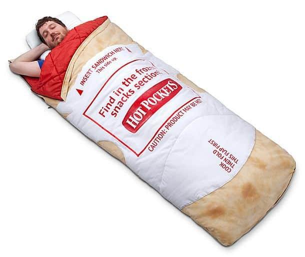 Спальный мешок в виде «Горячего кармашка»