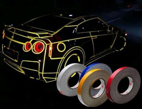 Светоотражающая лента для стайлинга авто