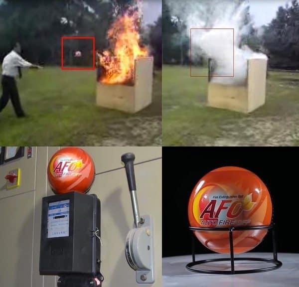 Метательный шар для пожаротушения AFO