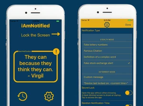iAmNotified — приложение для защиты iPhone от бытовой слежки