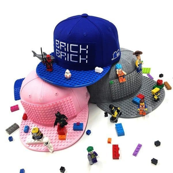 LEGO-бейсболки Brick Brick