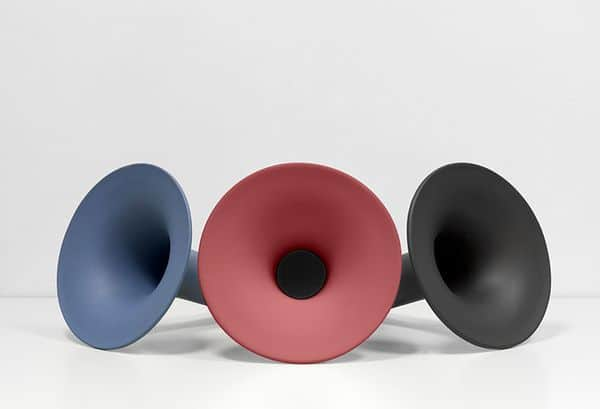 BT-колонка из керамики в стиле ретро