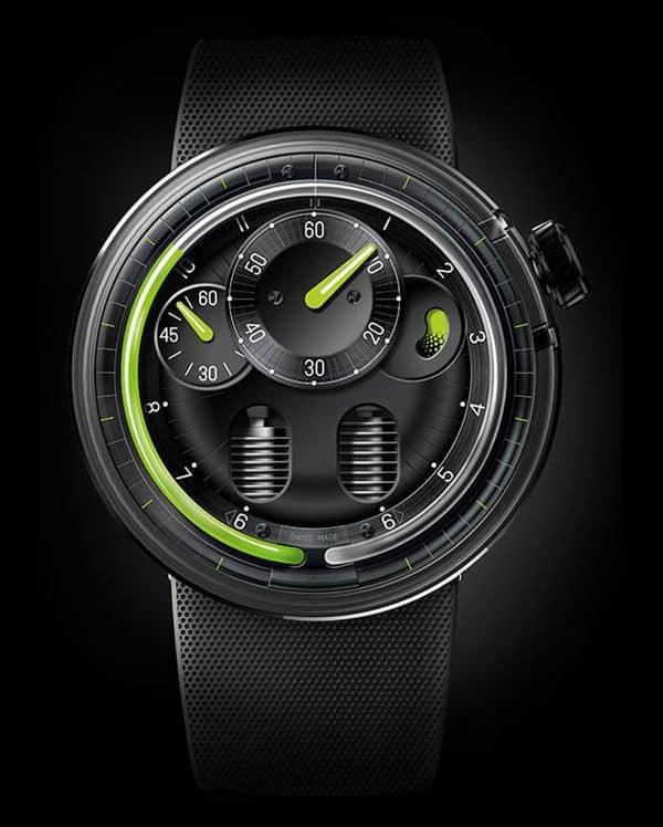 Гидромеханические часы HYT H0