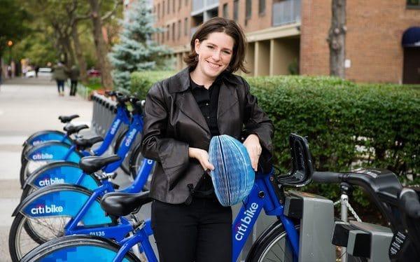 Складной велошлем из картона EcoHelmet
