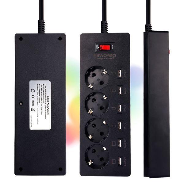 Комбинированный сетевой удлинитель с 6-ю USB-портами