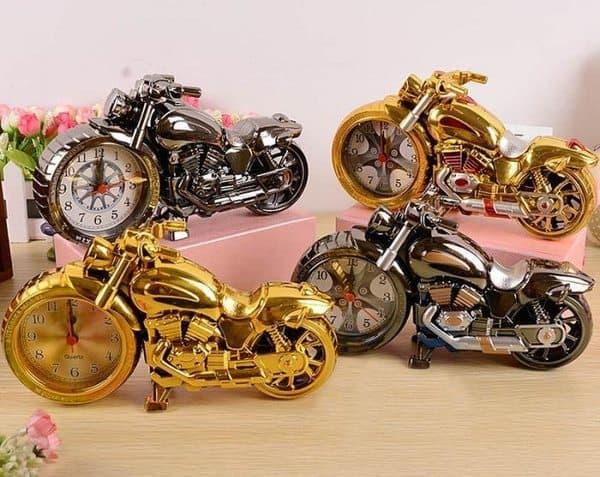 """Классический будильник """"Мотоцикл"""""""