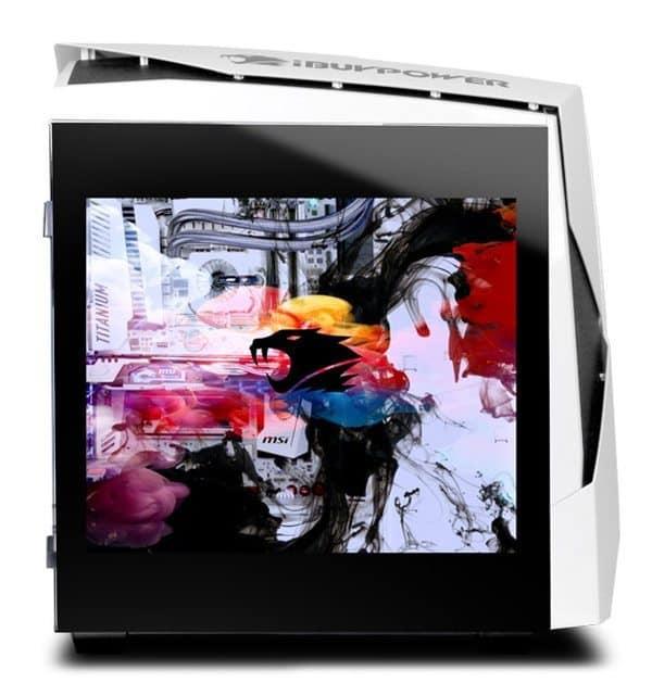Системный блок ПК со встроенным монитором Snowblind