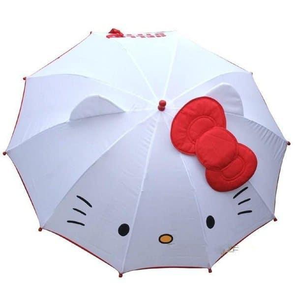 Детский зонт Hello Kitty
