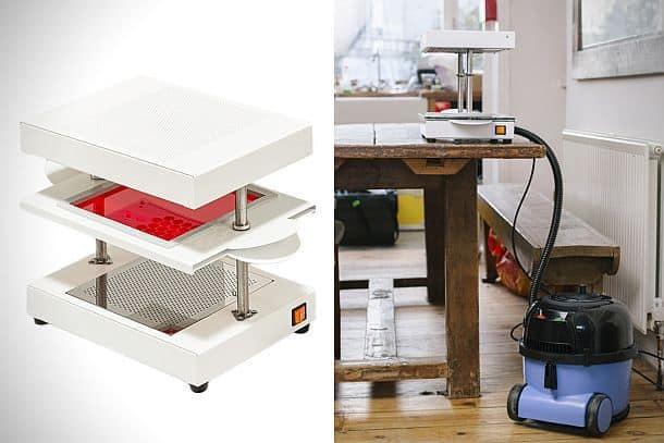 Вакуумный аппарат для изготовления мини-формочек Mayku FormBox