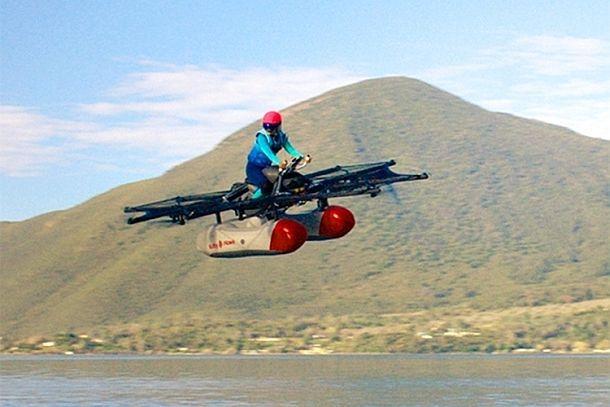 Гигантский мультикоптер для озер Kitty Hawk Flyer