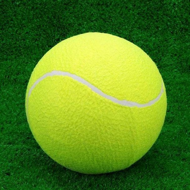 Гигантский теннисный мяч