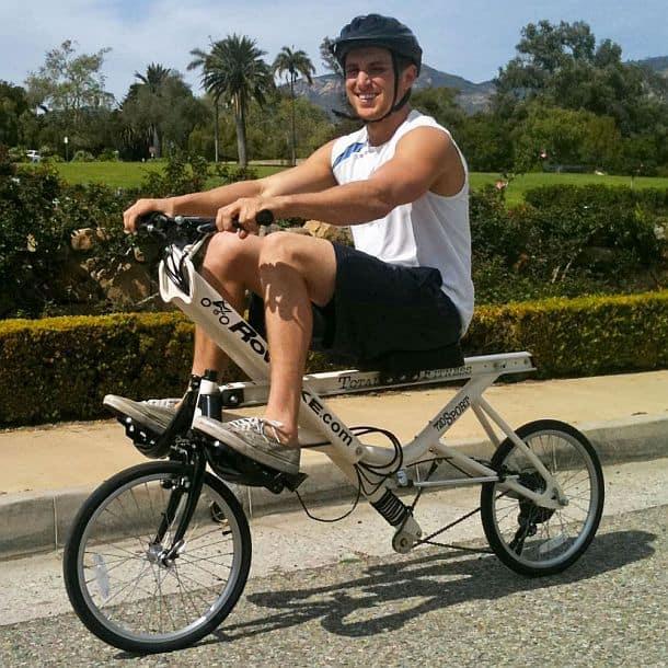 Гребной велосипед RowBike