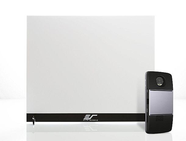 Двусторонний настольный экран Pico Sport для проекторов