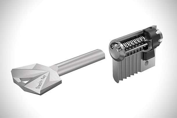 Замки с уникальными ключами Stealth Key, которые невозможно подделать