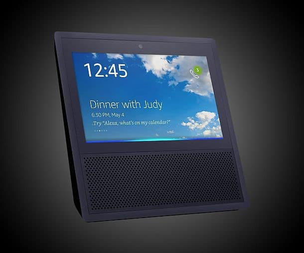 Интерактивный помощник для голосового управления умными гаджетами Amazon Echo Show